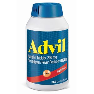 Advil Pain Reliever(NSAID) / Fever Reducer Ibuprofen, 200mg