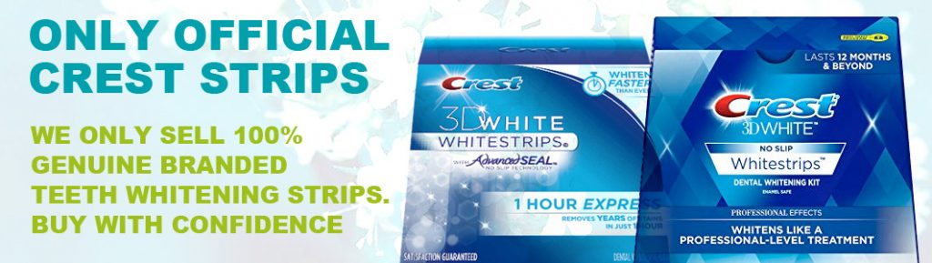 official crest teeth whitening strips uk