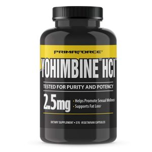 PrimaForce Yohimbine HCl, Weight Loss Supplement (270 Capsules)