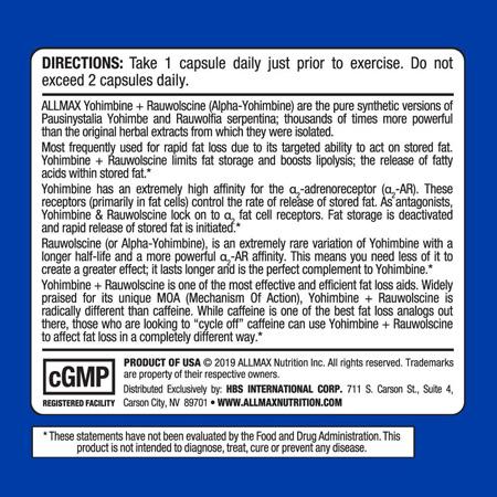 allmax-nutrition yohimbine-rauwolscine-60 capsules2