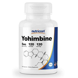 nutricost-yohimbine-HCl 5mg-120- capsules-extra strength