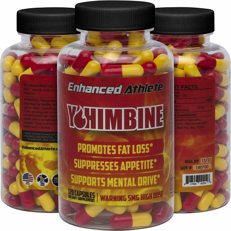 Enhanced Athlete Yohimbine HCL: 5mg